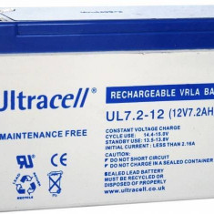 BATTERY 12V 7AH/UL7-12 ULTRACELL - UPS