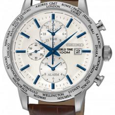 Ceas original Seiko World-Timer SPL051P1 - Ceas barbatesc