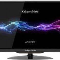 Televizor LED Generic Kruger Matz, HD, 24 INCH, DVB-T2/C, KRUGER&MATZ, negru