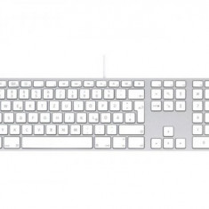 Tastatura Apple MB110RO/B USB, alba, layout RO