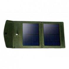 Generic Incarcator solar portabil Colia.Power Photon S4W CPPS4W, 205 x213 x 17 mm, verde - Baterie externa