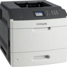 Imprimanta laser Lexmark MS812DN, MONOLASER, A4, 68 PPM, Duplex, USB 2.0, alb-gri - Imprimanta laser alb negru Lexmark, DPI: 1200