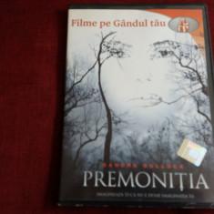 FILM DVD PREMONITIA - Film thriller, Romana