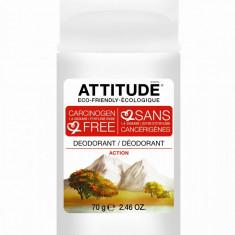 Attitude deodorant solid Action pentru barbati, 70g - Antiperspirant