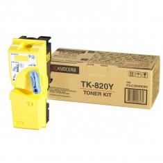 Kyocera Toner Kyocera TK-820Y, Galben, 7000 pagini
