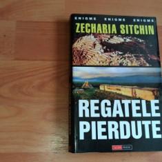 REGATELE PIERDUTE-ZECHARIA SITCHIN - Carte mitologie