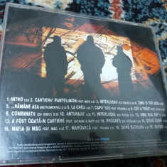 BUG MAFIA- DUPA BLOCURI CD 1999 - Muzica Hip Hop sony music