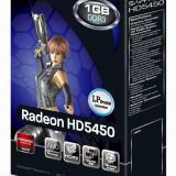 Placa video Sapphire Radeon HD5450, 1 GB GDDR3, 64-bit - Placa video PC