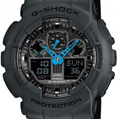 Ceas original Casio G-Shock GA-100C-8AER - Ceas barbatesc Casio, Sport