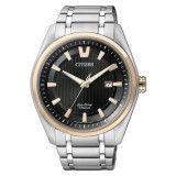 Ceas original Citizen Eco-Drive Super-Titanium AW1244-56E - Ceas barbatesc