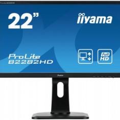 Monitor LED Iiyama ProLite B2282HD-B1, 21.5 inch, 16:9, 5 ms, negru