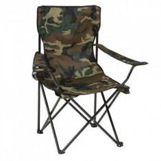 Scaun pescar, camping Strend Pro Arnold, camuflaj, 85x53x85 cm, pliabil - Aragaz/Arzator camping