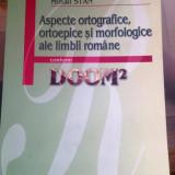 Aspecte ortografice, ortoepice si morfologice ale limbii romane DOOM2