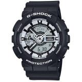 Ceas original Casio G-Shock GA-110BW-1AER - Ceas barbatesc Casio, Sport
