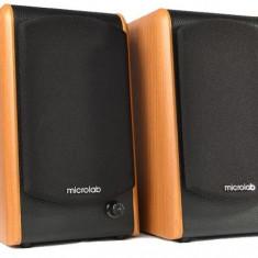 Microlab B-77, Sistem 2.0, 48W RMS, lemn - Boxe PC