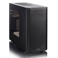 Carcasa Fractal Design Core 3500, Middle Tower, neagra, fara sursa - Carcasa PC