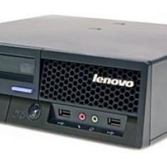 Calculator second hand Lenovo M6395 Core 2 Duo E8200 2.66GHz 2GB DDR2 80GB HDD Sata RW VB Coa Ultra SFF Desktop