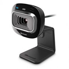 Camera web Microsoft LiveCam HD-3000, neagra, USB