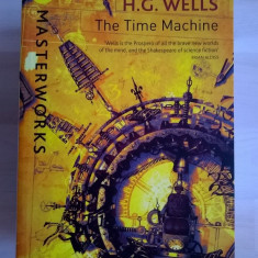 H. G. Wells - The Time Machine - Carte in engleza