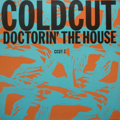 Coldcut - Doctorin' The House (1988, Ahead) disc vinil Maxi Single house hit - Muzica House