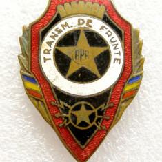 X921 INSIGNA TRANSMISIONIST DE FRUNTE RPR, Romania de la 1950