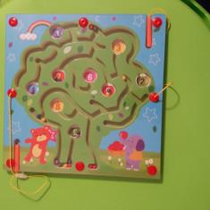 Tabla Magnetica cu Bile - Jocuri Forme si culori