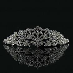 Diadema / tiara mireasa cu cristale tip Swarovski - Tiare mireasa