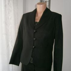 Costum dama din 3 piese, marimea M, culoarea negru!, Marime: M, Culoare: Din imagine