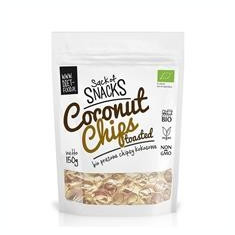 Chipsuri Bio Prajite din Cocos Diet Food 150gr Cod: 5906660508335 - Panificatie