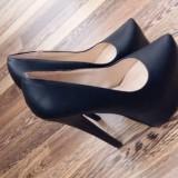 Pantofi negrii - Pantof dama, Culoare: Negru, Marime: 36