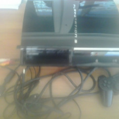 Consola PS3 FAT 60 GB - PlayStation - Ruleaza PS3 PS2 PS1 (003) - PlayStation 3 Sony