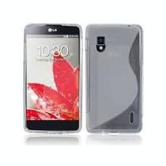 Husa LG Optimus G E975 TPU S-LINE Transparenta - Husa Telefon LG, Gel TPU, Fara snur, Carcasa