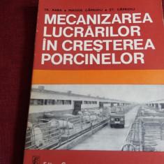 TR RABA - MECANIZAREA LUCRARILOR IN CRESTEREA PORCINELOR - Carti Zootehnie