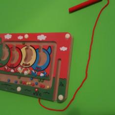 Tabla Magnetica cu Bile - 3 bucati - Jocuri Forme si culori