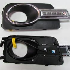 Grila DRL Lumini de ZI LED VW Tiguan AL-TCT-2560, Universal