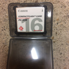 Card COMPACT FLASH CANON 16 mb
