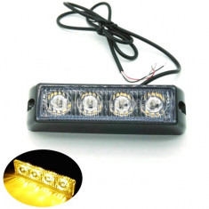Proiector Lumina Portocalie   Stroboscoape  12/24V  AL-210716-10