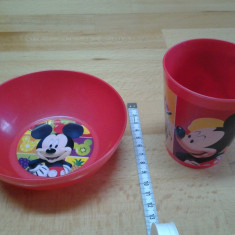 Mickey Mouse by Disney (rosu), Set mic dejun NIP