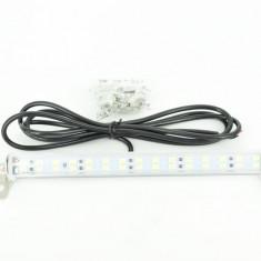 Lampa LED 12V Lumina Alba LED DRL Mini Lumini de ZI AL-220716-1, Universal