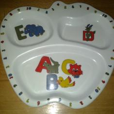 Farfurie copii Alfabetul NIP