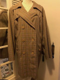 Trench dama MARINA RINALDI by MAX MARA, mas. XL, Multicolor