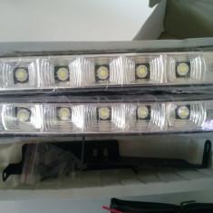 Proiectoare Lumini de ZI DRL Kit Complet 12V AL-TCT-1762