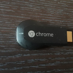 Google Chromecast HDMI Streaming Media Player H2G2-42 FUNCTIONEAZA .