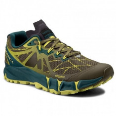 Pantofi Merrell AGILITY PEAK FLEX dark olive (MRL-J37709) - Pantofi barbat Merrell, Marime: 40, 41, 42, 44, Culoare: Verde