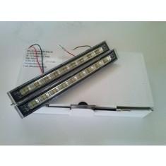 Proiectoare Lumini de Zi DRL 9 SMD-uri Lumina Alba 12V  AL-TCT-1759