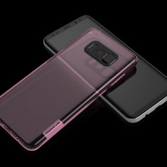 Husa Samsung Galaxy S8 Plus TPU Nature by Nillkin Roz - Husa Telefon Samsung, Transparent, Gel TPU, Fara snur, Carcasa
