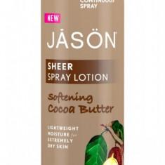 Spray hidratant Jason cu Unt de Cacao pentru corp, 177 ml