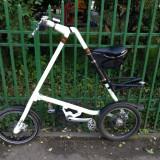 Bicicleta STRIDA - Bicicleta pliabila Strida, 16 inch, Numar viteze: 1