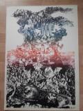 "LITOGRAFIE MARCEL CHIRNOAGA ""VANITAS"", e.a., Abstract, Cerneala"