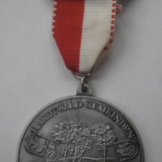 Medalie - 17. Int. Kurpfalz Marsch-u.Wandertag 1986 TSV 1895 Oftersheim e.V. - Decoratie